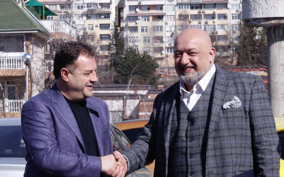 Министърът на младежта и спорта Красен Кралев посети Велико Търново