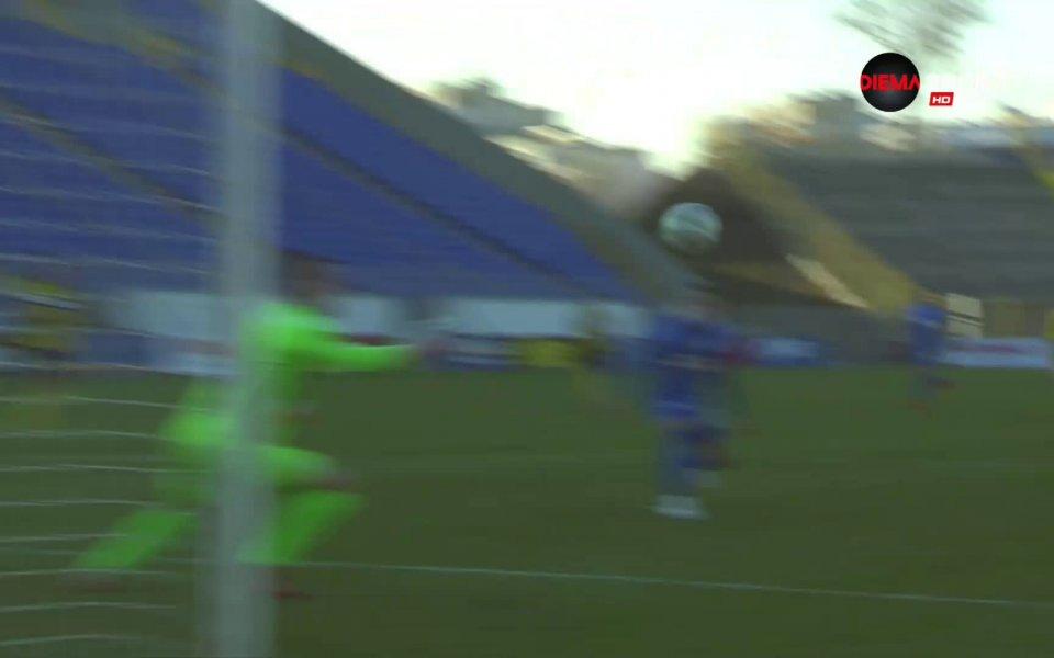 Левски и Ботев Пловдив играят при резултат 0:1 в мач