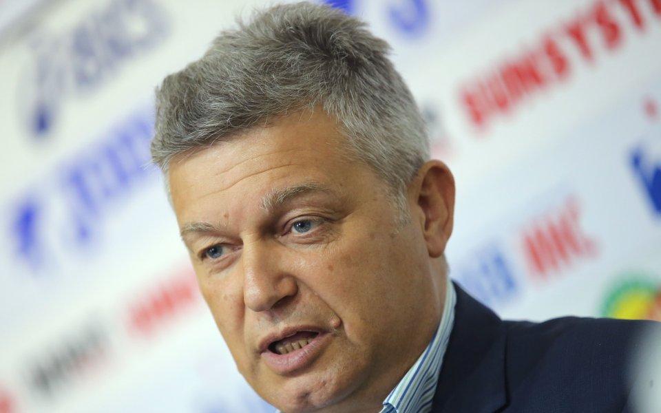 Председателят на Съдийската комисия - Костадин Гергинов направи по-рано днес