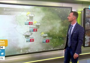 Прогноза за времето (09.03.2021 - сутрешна)