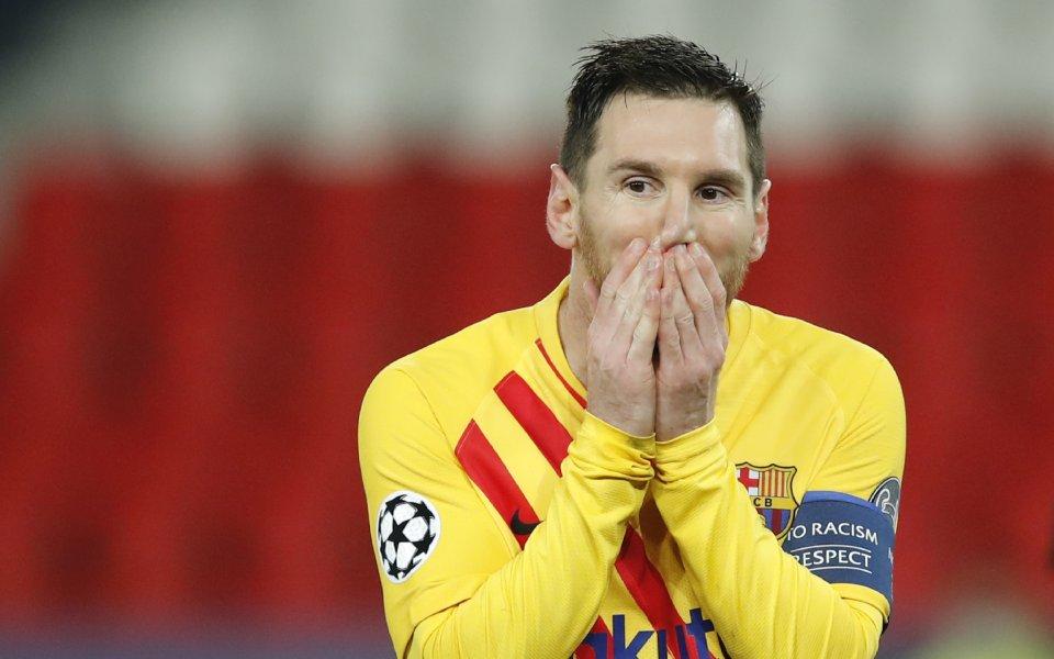 Бащата и агент на капитана на Барселона Лионел Меси -