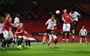 Драма в края! Милан се добра до равенството срещу Ман Юнайтед
