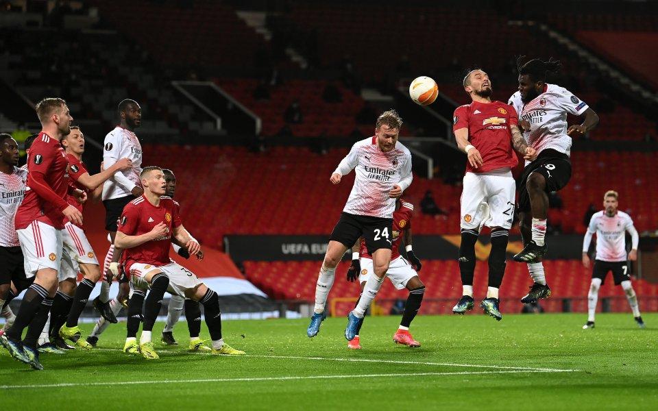 Манчестър Юнайтед и Милан не излъчиха победител, завършвайки при резултат