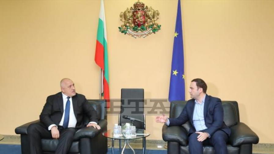 Борисов към Османи: Геостратегическата ни цел е тази