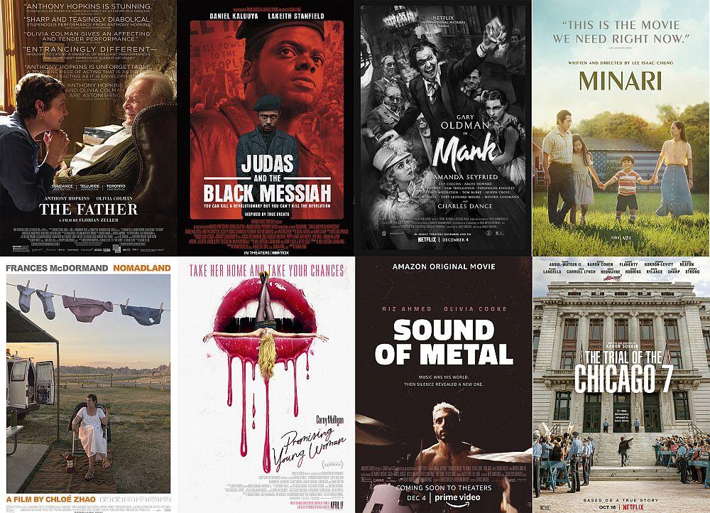 Номинациите за Оскар през 2021 година изненадаха със своето разнообразие. Предлагаме випоглед към тях в цифри