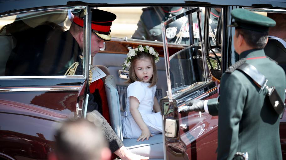 """Принцеса Шарлът не нарича баща си принц Уилям """"тате""""!"""