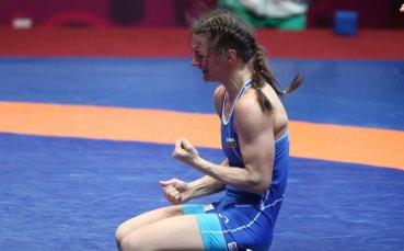 Евелина Николова в битка за бронза