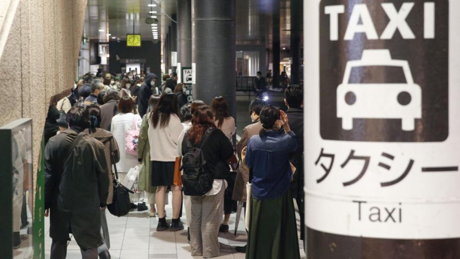 <p>Земетресение 7,2 в Япония, евакуирани, очакват цунами</p>