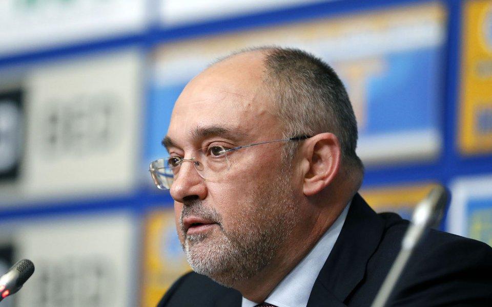 Членът на Изпънителния комитет на БФС Петър Величков отговори на
