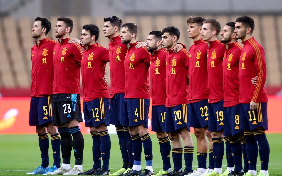 Националните отбори на Испания и Швеция се изправят един срещу