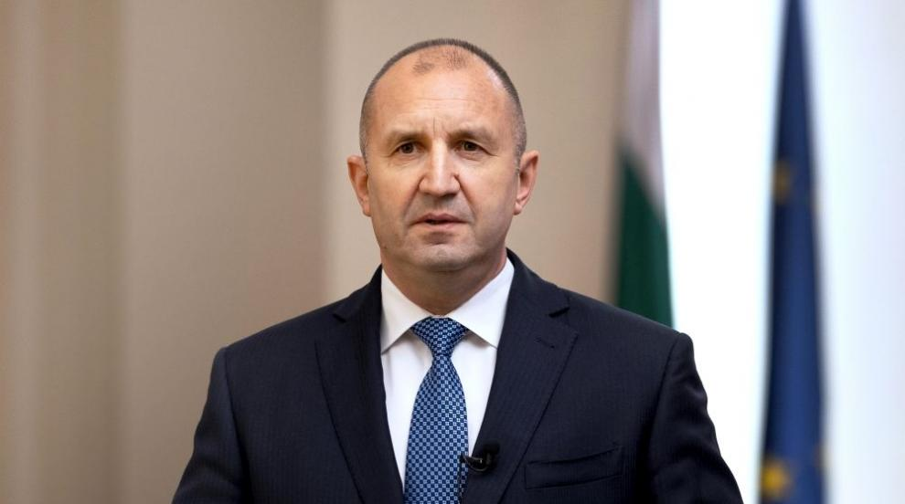 Обръщение на президента Румен Радев към народа
