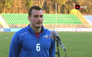 Кристиян Пешов: Успяхме да вземем 3-те точки