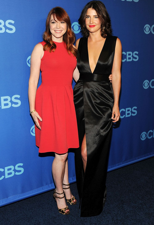"""И двете актриси в главните роли в """"Как се запознах с майка ви"""" са бременни в момент, в който героините им Лили и Робин не са.<br> <br>"""