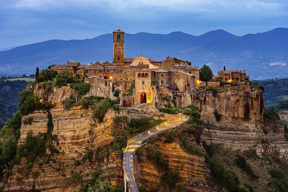 Италианският град Чивита