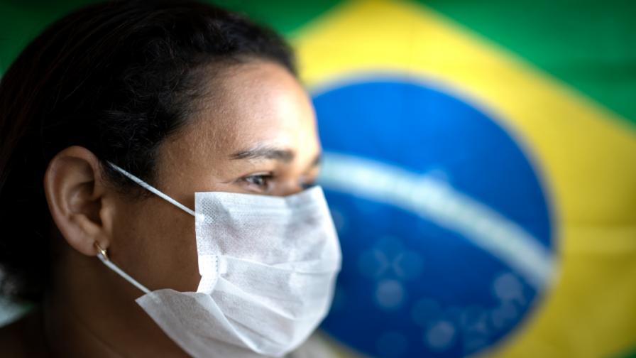 <p>Бразилски проститутки протестират за ваксина</p>