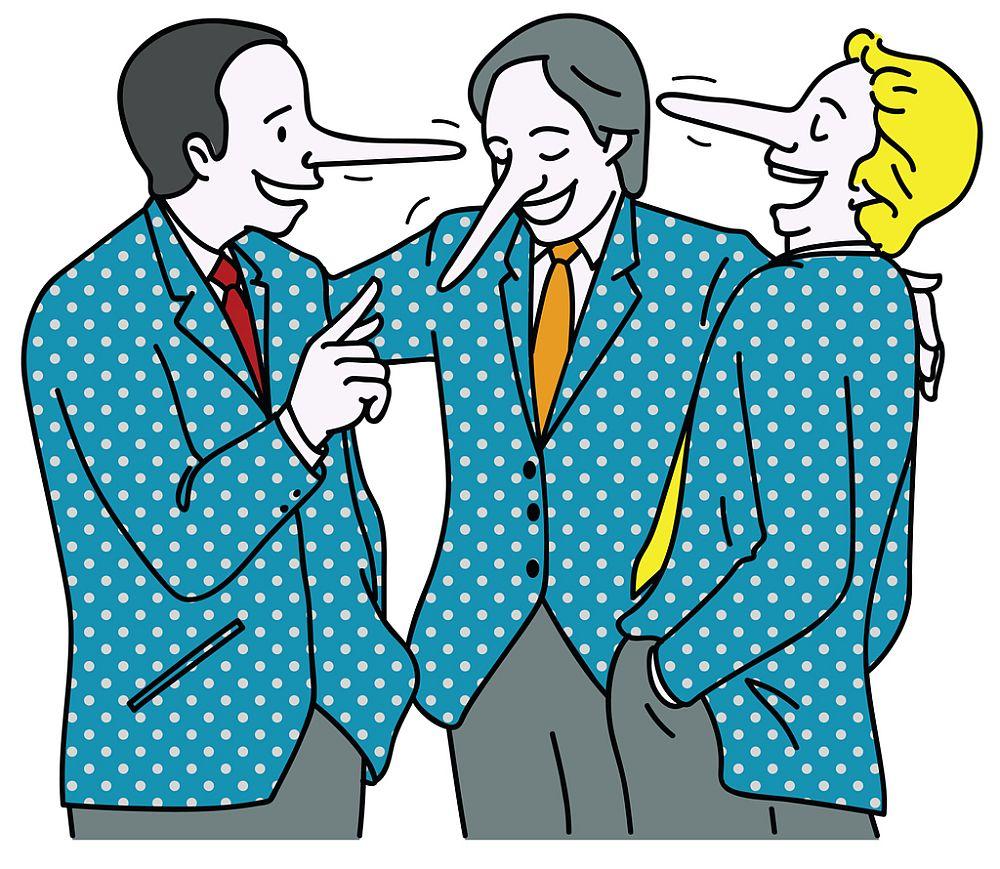 """Използване на изрази като фрази като """"не лъжа"""", """"наистина"""", """"честна дума"""" или """"да бъда честен"""""""