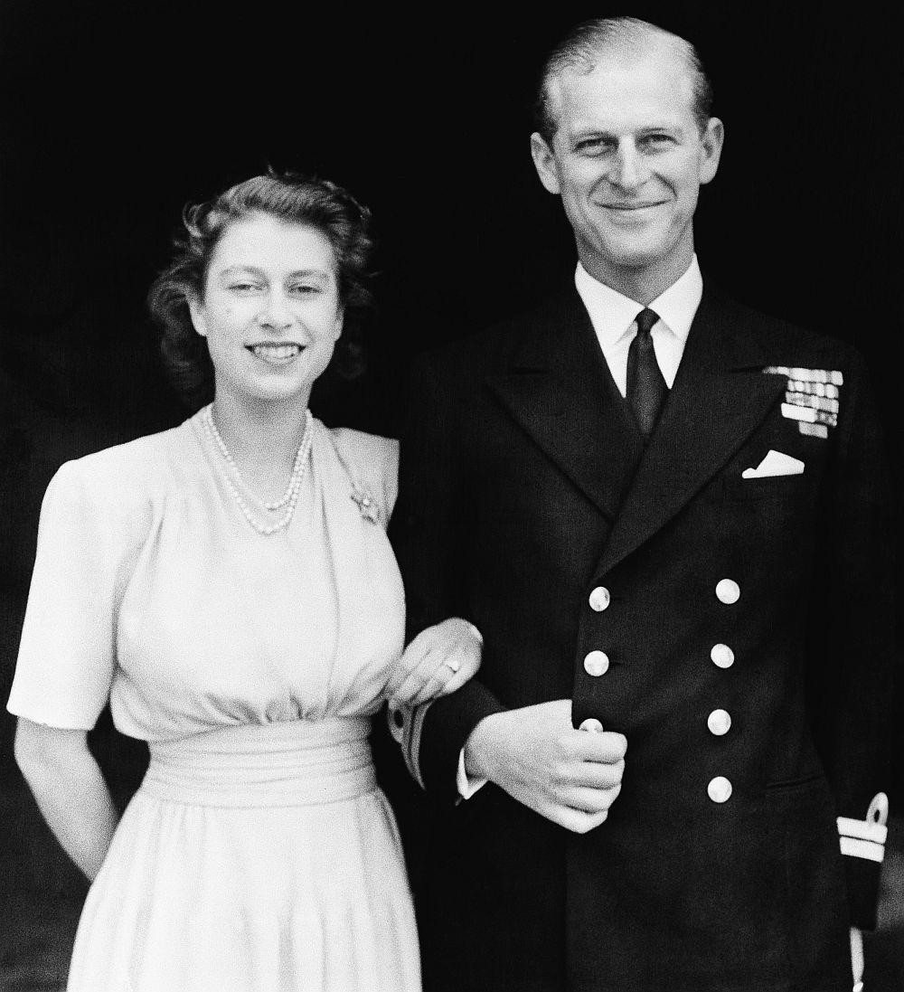 Принц Филип и принцеса Елизабет
