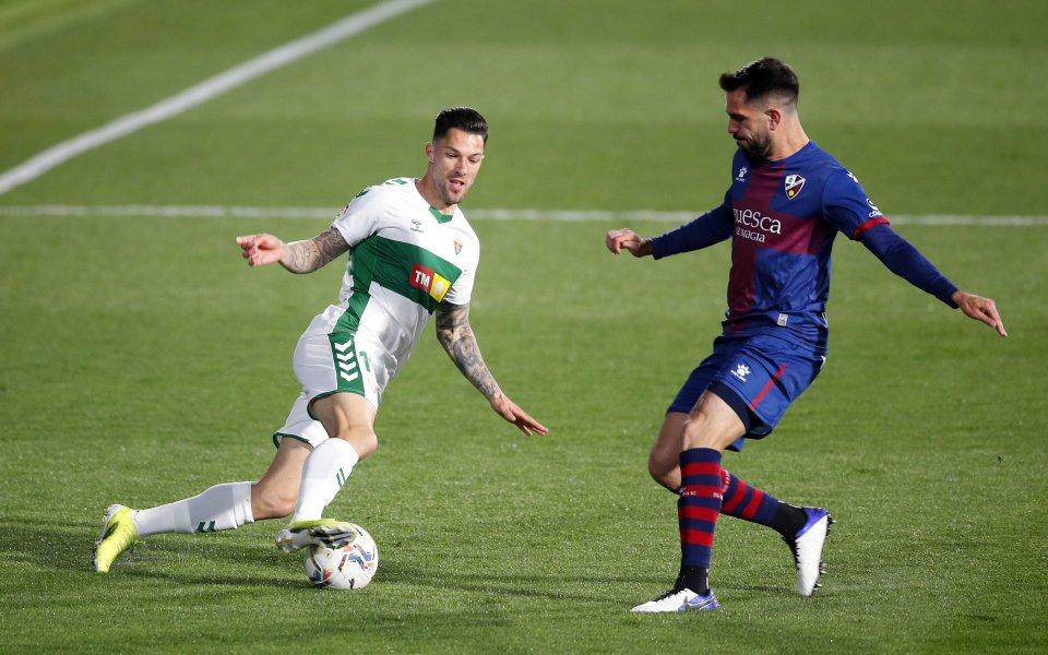 Уеска спечели дербито на дъното в Ла Лига