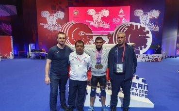 Гордост! България спечели отборната титла при щангистите на Евро 2021