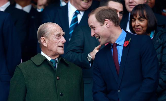 Принц Уилям сподели невиждана снимка на дядо си