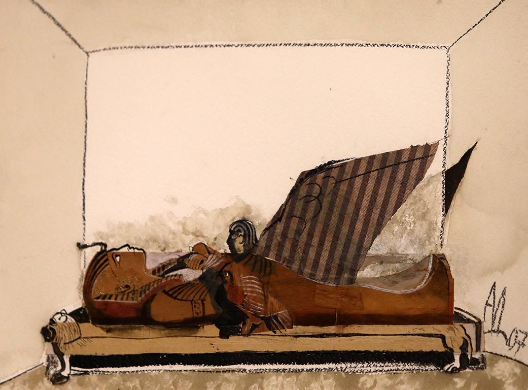 <p>Експонат VI - Мумия, 2007 г.</p>