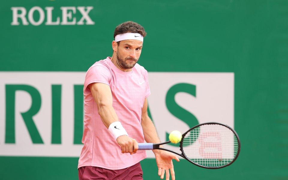 Най-добрият български тенисист Григор Димитров се оттегли от участие на