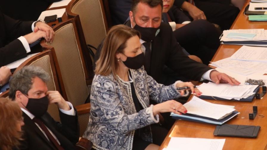 <p>Избраха председател на Народното събрание</p>