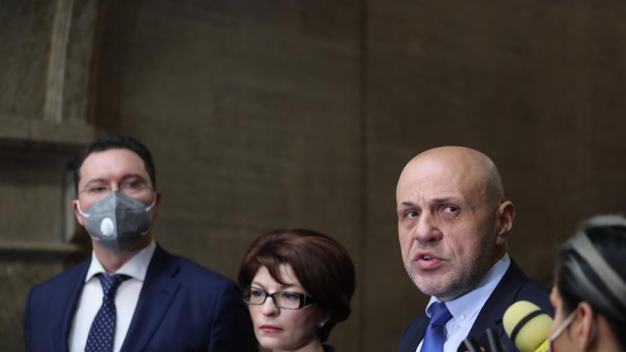 Консултации на президента Радев с ГЕРБ-СДС
