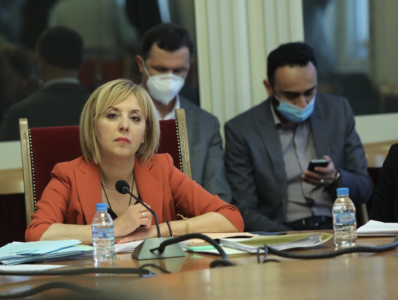 <p>Първо заседание на Комисията по ревизията в парламента</p>