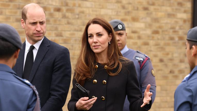 Кейт Мидълтън с първа публична поява след смъртта на принц Филип