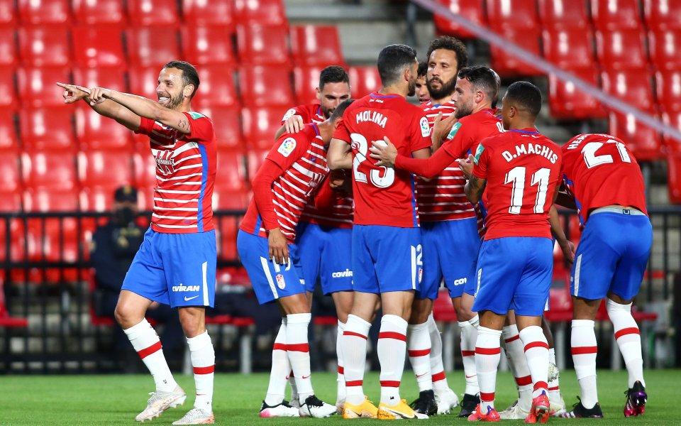 Гранада победи Ейбар с 4:1 в мач от 31-ия кръг