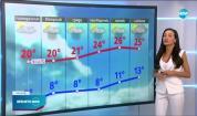 Прогноза за времето (25.04.2021 - централна емисия)