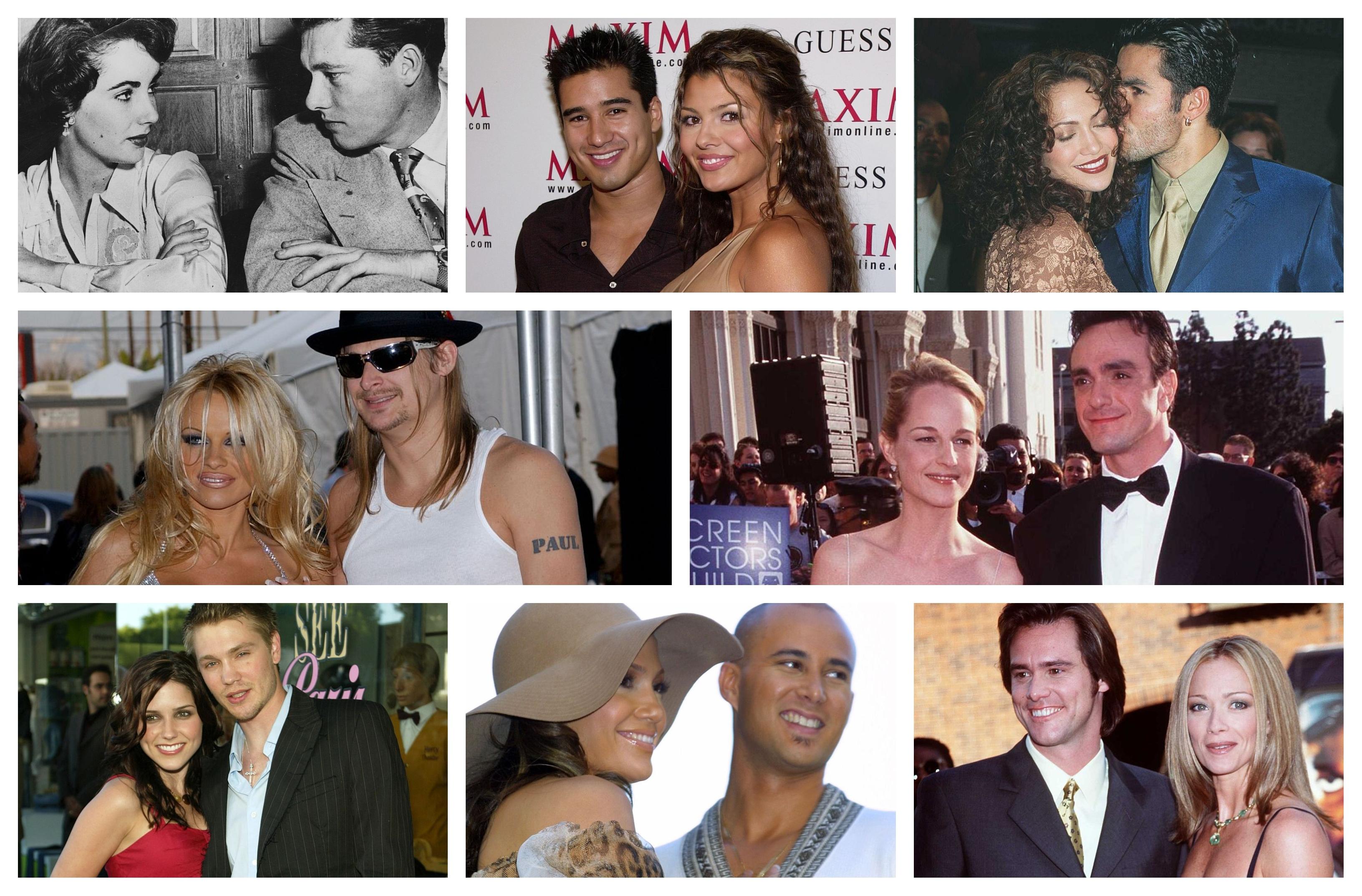 """Колко трае любовта? А бракът? Мнозина ще отговорят """"цял живот"""". За някои звезди обаче той е с продължителност от няколко месеца или дори дни. Вижте кои са знаменитостите от музикалната сцена и киното с най-кратки бракове"""