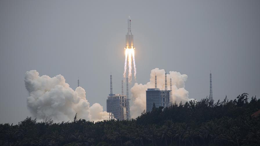 Китай излезе в космоса