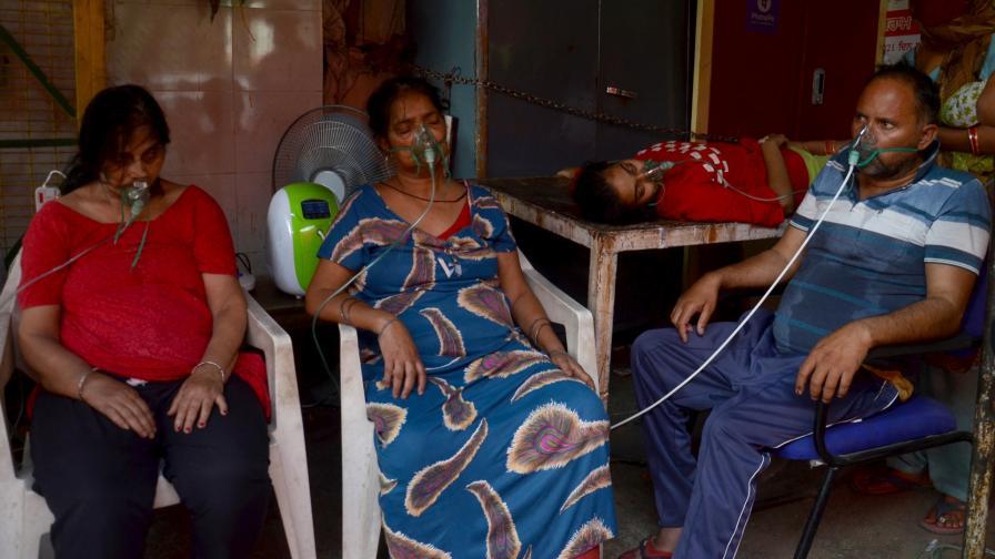 <p>Ужас в Индия &ndash; над 20 млн. заразени с COVID-19</p>