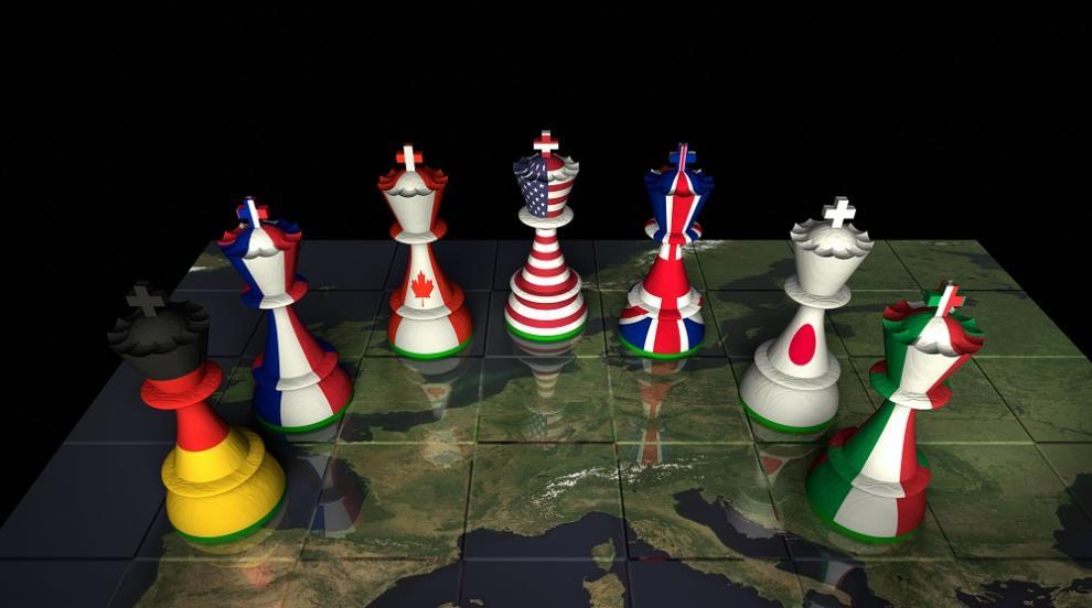 """Страните от Г-7 изразиха безпокойство от """"дестабилизиращото"""" поведение на Русия"""