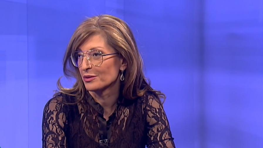 Захариева: ГЕРБ не може да се коалира с БСП и ДПС