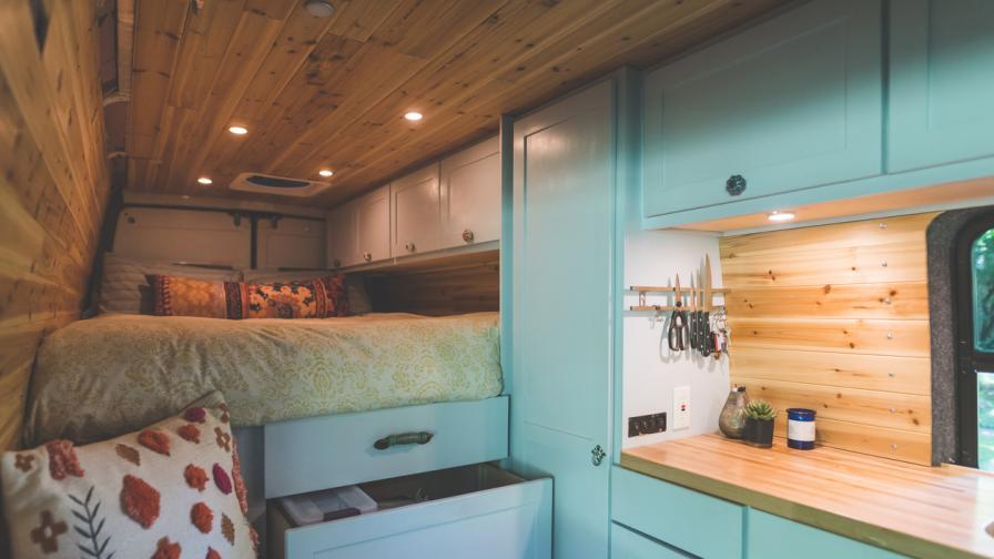 Вижте как се живее в къщичка с площ от 25 кв.м.