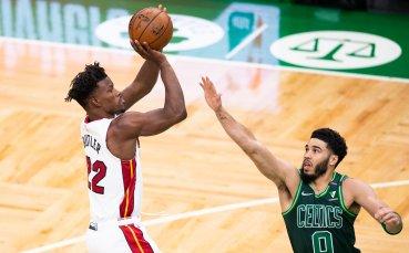 Маями си осигури място в плейофите на НБА с победа срещу Бостън