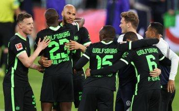 Волфсбург изпусна два гола аванс срещу Лайпциг, но си подсигури участието в ШЛ