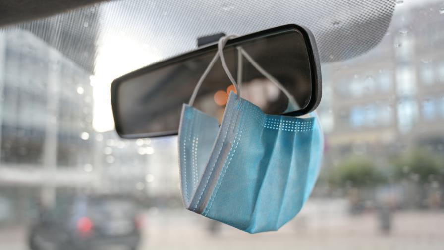 300 евро глоба за неносене на маска в колата в Гърция
