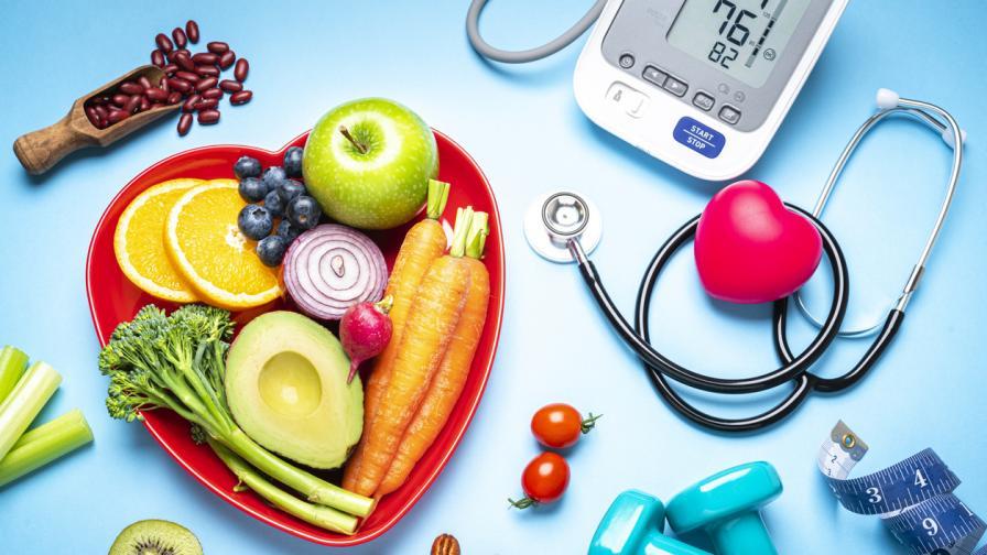 Съвети за здравословно хранене срещу високо кръвно