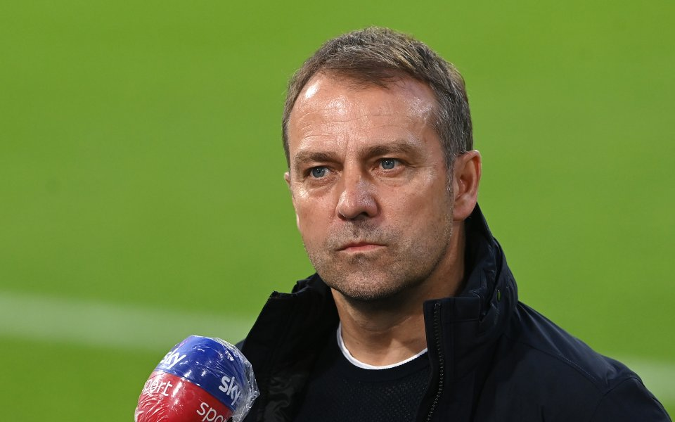 Треньорът на германския шампион Байерн Мюнхен Ханзи Флик може изненадващо