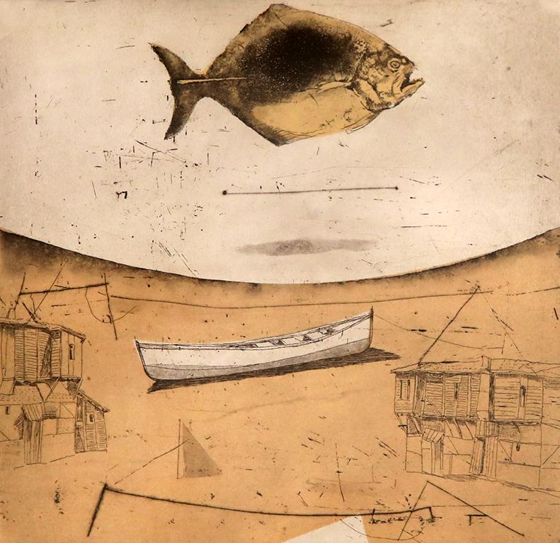 <p>Пясъчна риба</p>