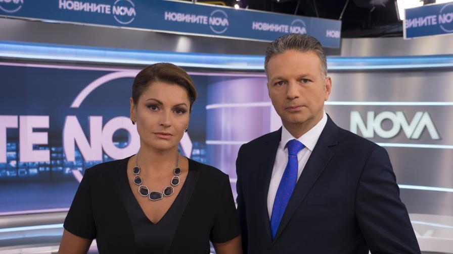 Късната емисия на Новините на NOVA с нов час през летните месеци