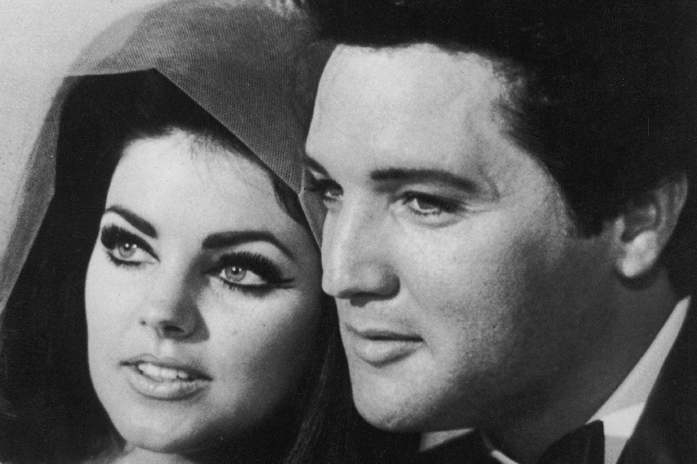 Сватбата на Елвис Пресли и Присила през 1967 година