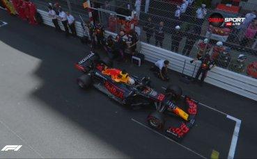 Драма преди старта за Гран при на Монако, Ферстапен стартира първи