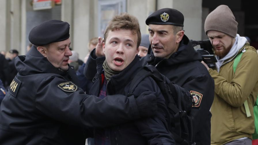 Арестуването на Роман Протасевич