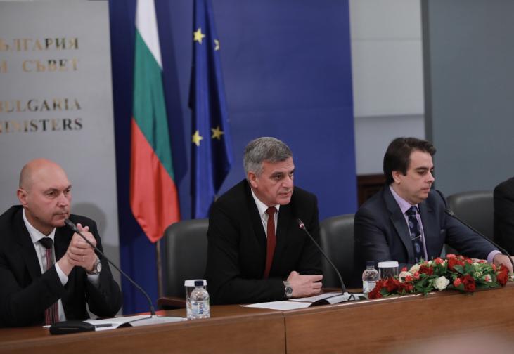 Стефан Янев представи новите областни управители