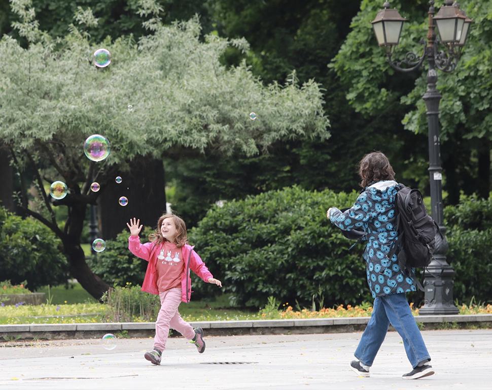 <p>Международния ден на детето в София</p>
